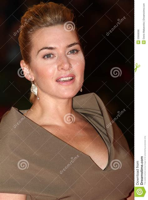 spiriva commercial actress venice kate winslet editorial stock photo image 33668068