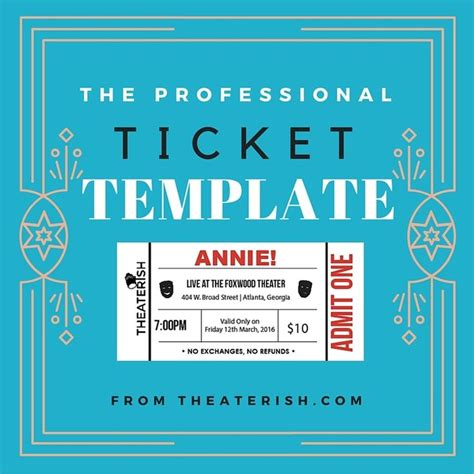 17 Best Images About Theater Templates On Pinterest Theater Tickets Program Template And Theater Customizable Pass Template