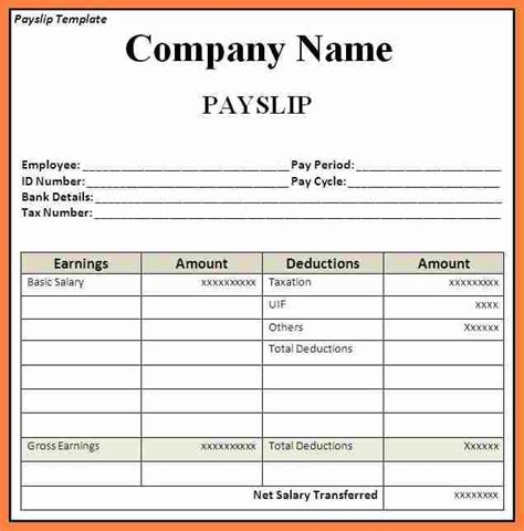 salary budget template basic payslip template excel invitation template
