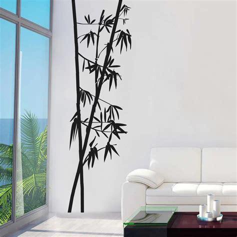 wandtattoo asiatisch wandtattoo bambus zweige 196 ste baum bl 228 tter asiatisch