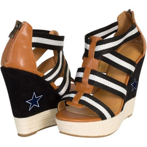 dallas cowboys womens high heels best dallas cowboys shoes products on wanelo
