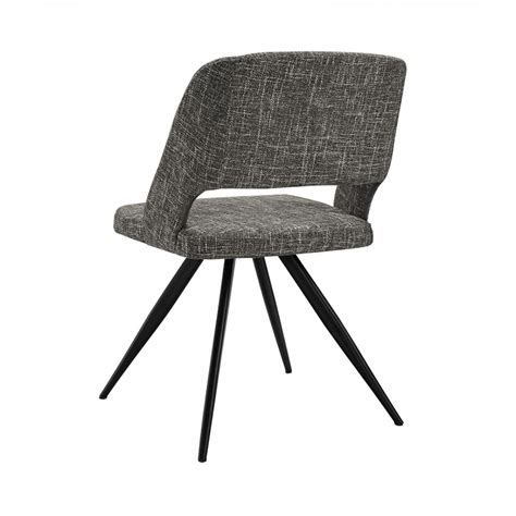 grey dining chairs palmer modern grey fabric dining chair set of 2