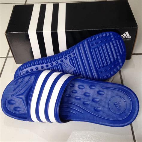 Sepatu Sandal Pria Adidas Sandal Terapi 4 Varian jual adidas mungozoon biru size 42 sendal slip on