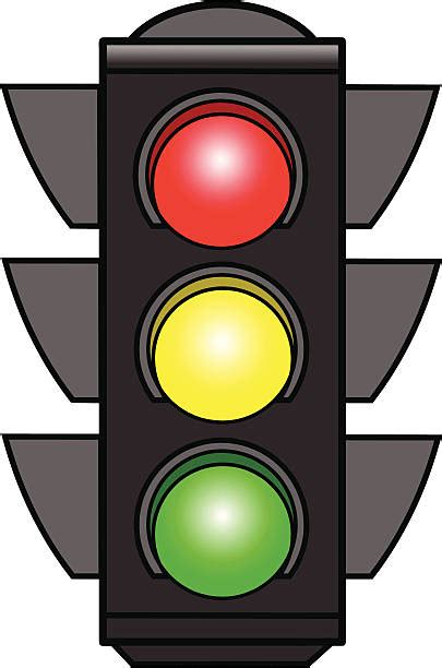 Clipart Semaforo Top 60 Yellow Traffic Light Clip Vector Graphics And