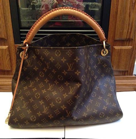 authentic louis vuitton artsy mm handbag monogram ebay