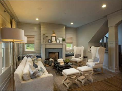 Tongue And Groove Fireplace by White And Taupe Living Room With Taupe Tongue And Groove