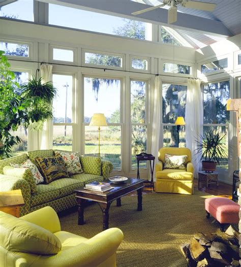 Windows Sunroom Decor 30 Sunroom Design Ideas Style Motivation