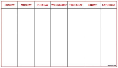 template of a calendar calendar template