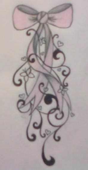 ribbon bow tattoo designs bow design by average sensation on deviantart