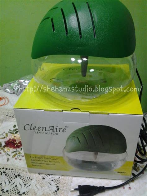 Air Purifier Cosway s diary of cleenaire revitalisor for fresh