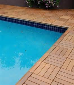 how to use handydeck deck tiles to build swimming pool decks