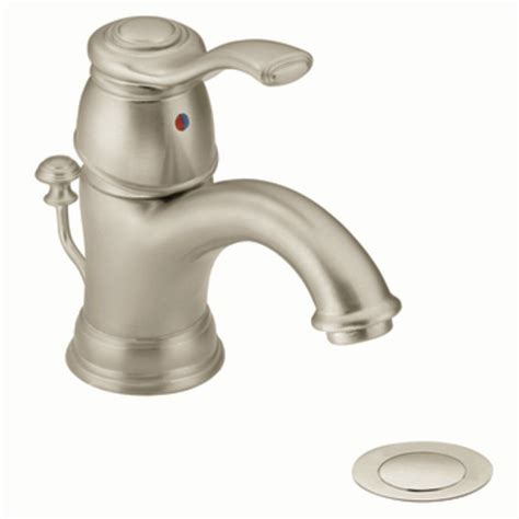moen kingsley bathroom faucet moen 6102bn kingsley single handle lavatory faucet with