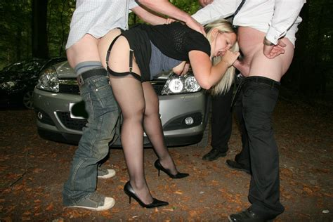 British Wife Fucking After Dark In Dogging Sex Action Pichunter