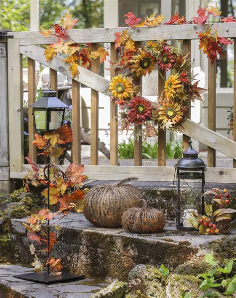 fall decorations for home get a jump start on fall decor porter s craft frame