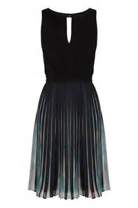 Clothing For Coast Elbany Pleated Dress In Black Lyst