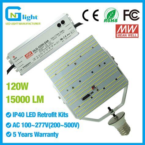 mercury vapor l fixture 120w post top street light led retrofit kit 180 528vac 400