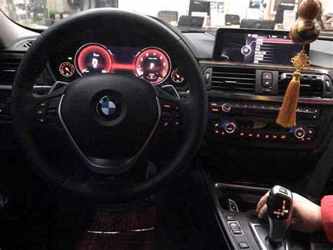 bmw 3 series dashboard bmw 3 series f30 modded with 5 series f10 s digital