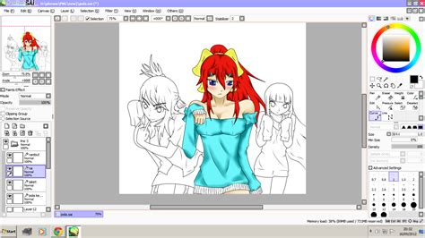 paint tool sai free newest version simawhiz