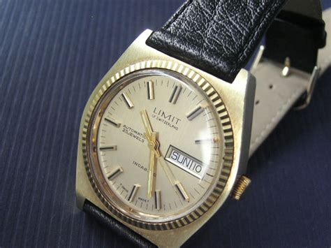 limit automatic 25j 1960s secondhand and vintage watches