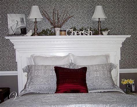 best 25 fireplace mantle headboard ideas on