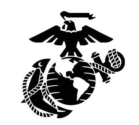 globe tattoo logo usmc marine corps eagle anchor globe stencil for painting