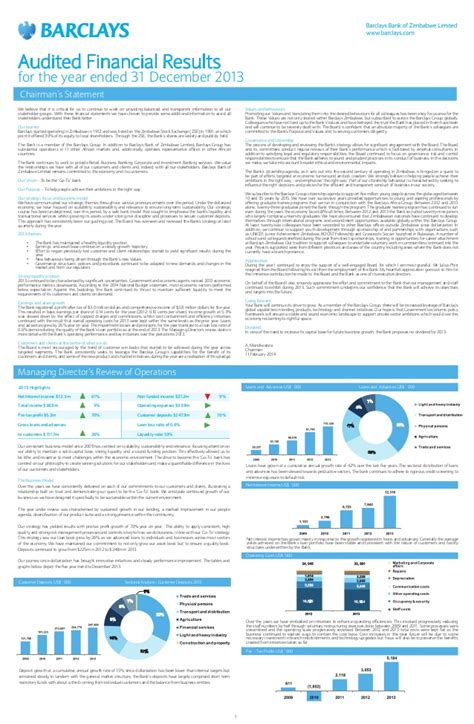 barclays bank statement template barclays bank of limited fy 2013 financial results