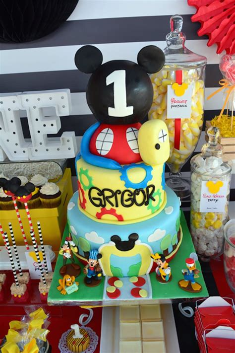 St Big Mickey Kid mickey mouse 1st birthday ideas birthday