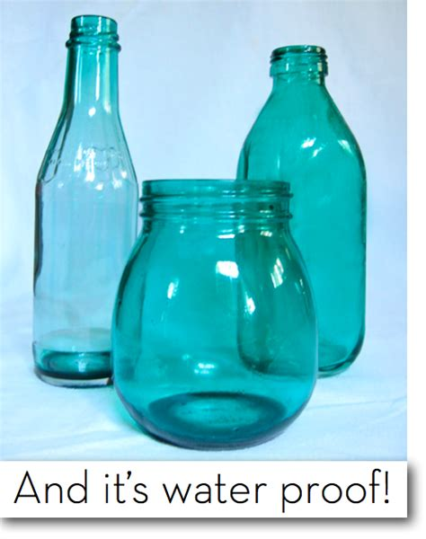 how to color jars how to dye clear glass any color we test two