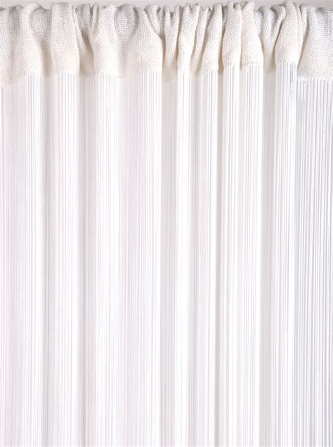 drawstring drapes string curtains white string curtains 7 feet to 30 feet