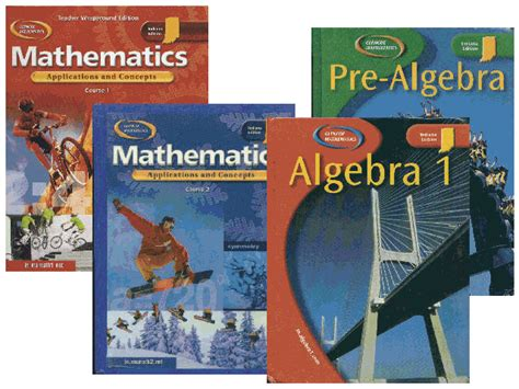 pictures of math books textbook links