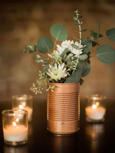 tin decorations 25 best ideas about tin can centerpieces on