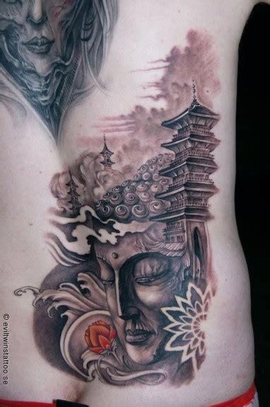 buddha temple tattoo design tattoobite com