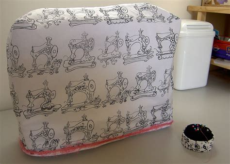 pattern sewing machine cover create your own sewing machine cover free tutorials