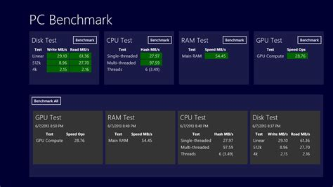 pc test pc benchmark all test done next of windows