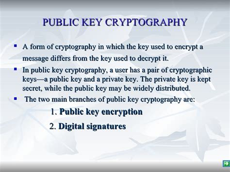 public key encryption public key encryption