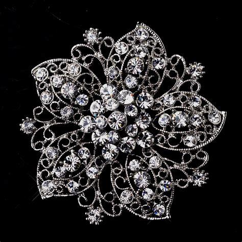 Vintage Wedding Hair Brooches by Brooch 156 Wf Wedding Hair Flowers