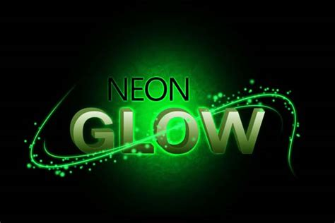 photoshop cs3 glow effect tutorial neon glow text effect using photoshop sanwebe com