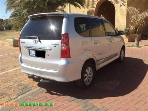 Toyota Avanza For Sale South Africa 2008 Toyota Avanza 1 5 Tx Used Car For Sale In Kempton