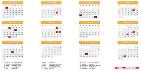 Kalender 2018 Tiket Kalender Liburan 2018 Dan Cuti Bersama Indonesia
