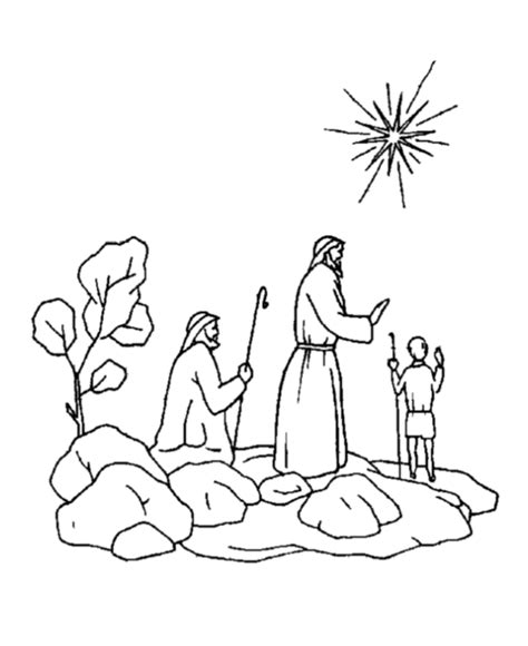 coloring pages christmas shepherds nativity story coloring pages az coloring pages