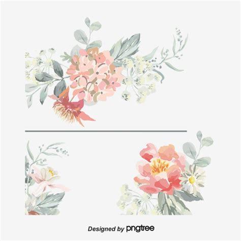 convite de casamento flores em aquarela aquarela de flores vector png convite o convite de