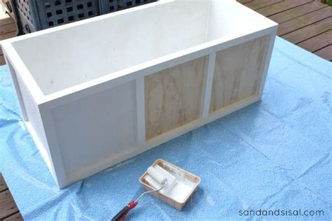 diy storage box diy outdoor storage box bench