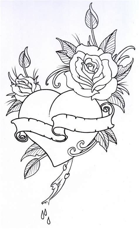 Sketch Outline by Flower Outline Drawing Drawing Gallery