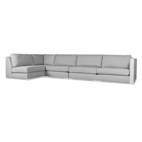 left chaise greenwhich modular left chaise sectional