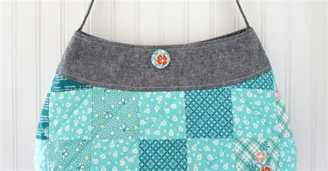 charise creates springtime patchwork purse pattern