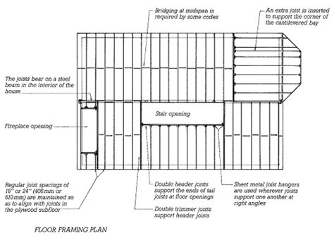 floor framing plans building planning the frame engineering and construction