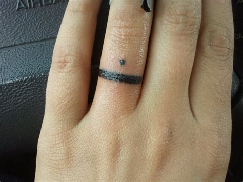 christian tattoo wedding bands wedding band tattoo picture