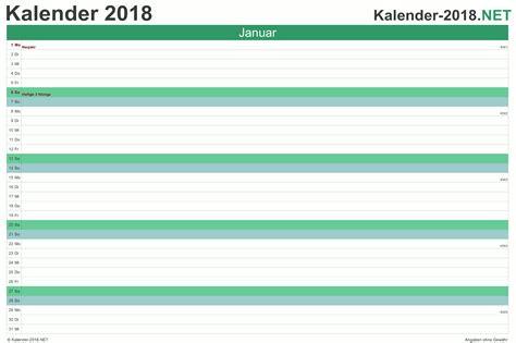 Kalender 2018 Zum Ausdrucken Quartal Kalender 2018 Mit Feiertagen Ferien