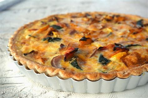 vegetables quiche recipe roasted vegetable cheddar quiche recipe dishmaps