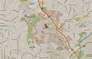 marietta map around marietta ga